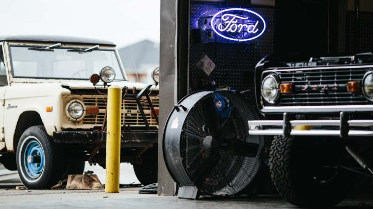 Powell entrepreneur brings first-generation Ford Broncos back to life