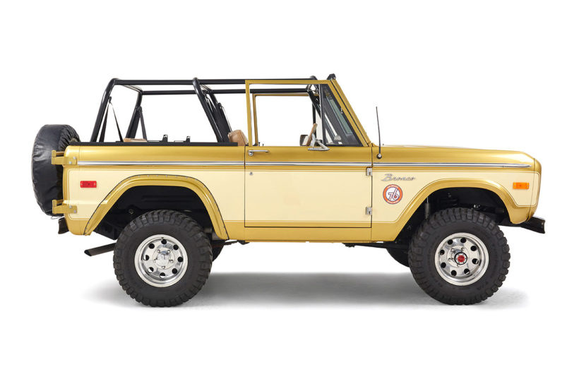 Gold Rush Ford Bronco