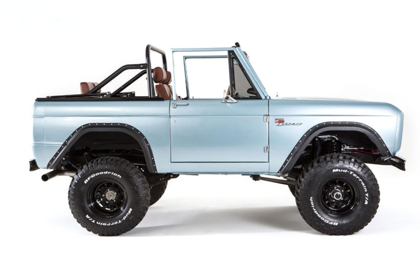 San Fransisco Ford Bronco