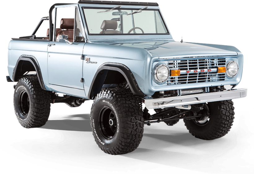 Classic Ford Broncos 1966 1977 Early Model Ford Broncos